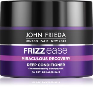 John Frieda Frizz Ease Miraculous Recovery nährender Conditioner mit Tiefenwirkung für beschädigtes Haar