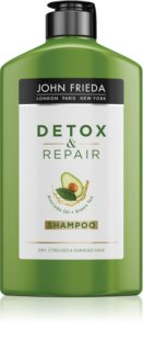 John Frieda Detox & Repair Cleansing Detoxifying Shampoo For Damaged Hair
