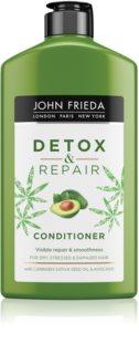 John Frieda Detox & Repair reinigender Detox-Conditioner für beschädigtes Haar