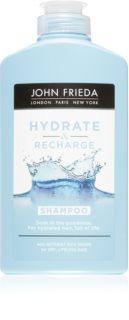 John Frieda Hydra & Recharge Kosteuttava Hiustenpesuaine Kuiville Ja Normaaleille Hiuksille
