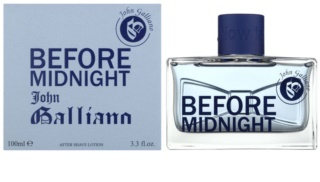 John Galliano Before Midnight lozione after-shave per uomo