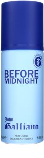 John Galliano Before Midnight deo spray voor Mannen