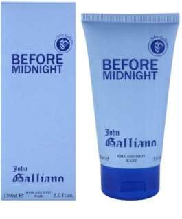 John Galliano Before Midnight gel de douche pour homme