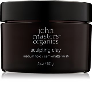 John Masters Organics Sculpting Clay Medium Hold lama modeladora  para aspeto mate