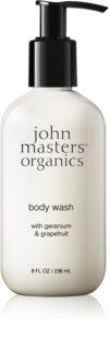 John Masters Organics Geranium & Grapefruit душ гел
