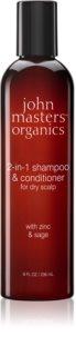 John Masters Organics Zinc & Sage Shampoo und Conditioner 2 in 1