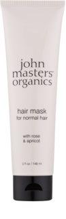 John Masters Organics Rose & Apricot mascarilla para cabello