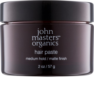 John Masters Organics Sculpting Clay Medium Hold pasta modellante per un finish opaco