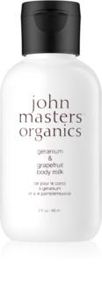 John Masters Organics Geranium & Grapefruit lapte de corp