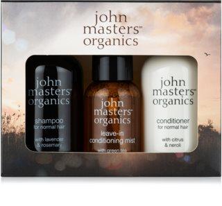 John Masters Organics Lavender Rosemary Conjunto de viagem III. (para cabelo)
