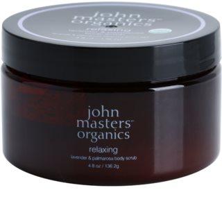 John Masters Organics Lavender & Palmarosa Kirkastava Vartalokuorinta Pehmeälle Ja Sileälle Iholle