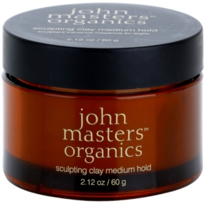 John Masters Organics Sculpting Clay Medium Hold modellierende Paste mittlere Fixierung
