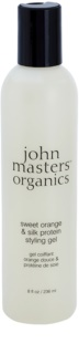 John Masters Organics Sweet Orange & Silk Protein στάιλινγκ τζελ