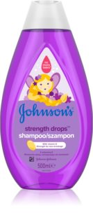 Johnson's® Strenght Drops sampon fortifiant pentru copii