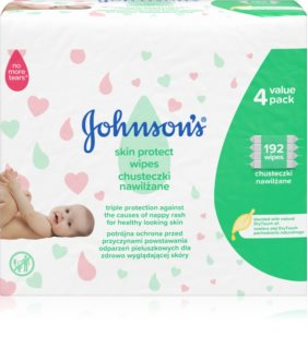 Johnson's Baby Skin Protect Baby Gentle Wet Wipes