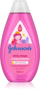 Johnson's® Shiny Drops нежен шампоан за деца