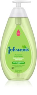 Johnson's Baby Wash and Bath shampooing doux pour bébé au camomille