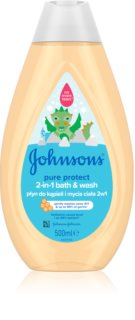 Johnson's Baby Wash and Bath gel za kupku i tuširanje za djecu