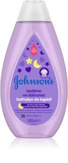 Johnson's Baby Bedtime baie calmanta pentru nou-nascuti si copii