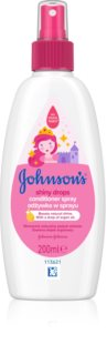 Johnson's® Shiny Drops ausspülfreier Conditioner im Spray mit Arganöl