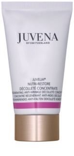 Juvena Juvelia® Nutri-Restore регенериращ концентрат против бръчки за шия и деколте