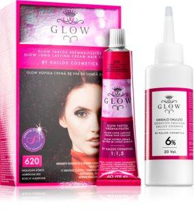 Kallos Glow перманентната боя за коса