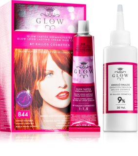 Kallos Glow coloration cheveux permanente