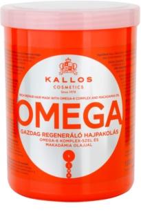 Kallos KJMN máscara capilar nutritiva com complexo omega-6 e óleo de macadâmia