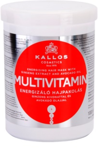 Kallos KJMN ενεργοποιητική μάσκα μαλλιών