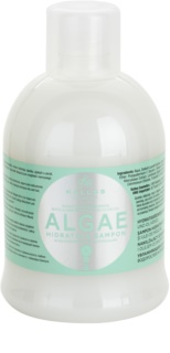 Kallos KJMN hydratační šampon s výtažkem z řas a olivovým olejem