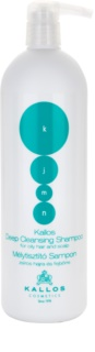 Kallos KJMN šampon za dubinsko čišćenje za masnu kožu i vlasište