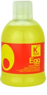Kallos Egg Voedende Shampoo  voor Droog en Normaal Haar