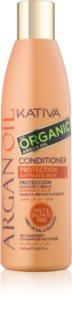 Kativa Argan Oil ochranný kondicionér na lesk a hebkosť vlasov