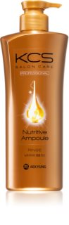 KCS Salon Care Nutritive Ampoule Rinse Nourishing Shampoo for Reconstruction and Strengthen Hair