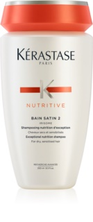 Kérastase Nutritive Bain Satin 2 Exceptional Nutrition Shampoo for Dry, Sensitised Hair