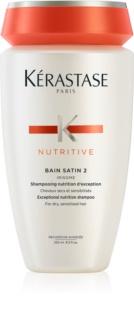 Kérastase Nutritive Bain Satin 2 Exceptionellt närande schampo för torrt och behandlat hår
