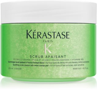 Kérastase Fusio Scrub Apaisant  Cleansing Peeling for Hair