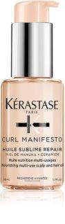 Kérastase Curl Manifesto Huile Sublime Repair Ravitseva Öljy Aaltoileville Ja Kiharoille Hiuksille