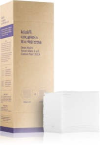 Klairs Supple Preparation make-up removers en huidreinigers van katoen