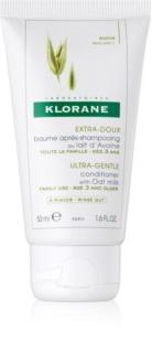 Klorane Oat Milk acondicionador suave para lavar el cabello con frecuencia