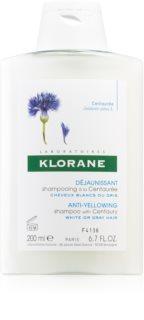 Klorane Centaurée shampoing pour cheveux blonds et gris