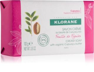 Klorane Cupuaçu Listy fíkovníku mýdlo