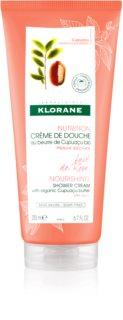 Klorane Cupuaçu Lait de Rose crème de douche hydratation intense