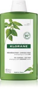 Klorane Nettle почистващ шампоан за мазна коса