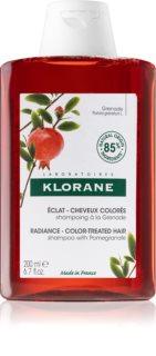 Klorane Pomegranate  sampon pentru stralucirea si tonifierea parului vopsit