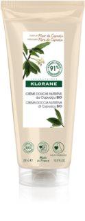Klorane Cupuaçu Bio Fleur de Cupuaçu gel de douche nourrissant