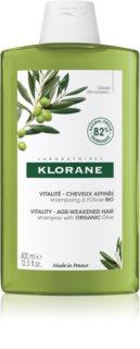 Klorane Organic Olive відновлюючий шампунь для зрілого волосся