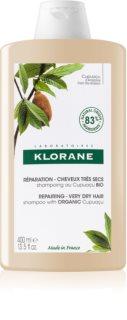 Klorane Cupuaçu Bio Bio sampon hranitor pentru păr uscat și deteriorat