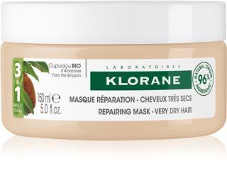 Klorane Cupuaçu Bio Bio αναγεννητική μάσκα για τα μαλλιά για πολύ ξηρά μαλλιά