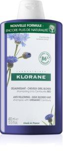 Klorane Bleuet Organic shampoing anti-jaunissement